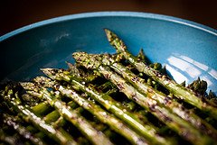 Grilled Asparagus with Parmesan Cheese