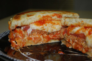 Grilled Stuffed Pizza Burgers - Mastering the Flame