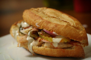 Buffalo Grilled Chicken Sandwich