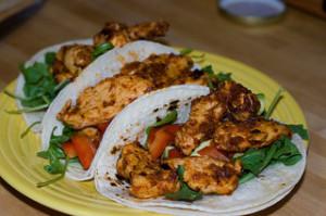 Grilled Chicken Santa Fe