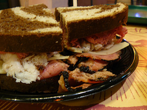 How to Grill Turkey Pastrami