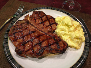 How to Grill a Porterhouse Steak