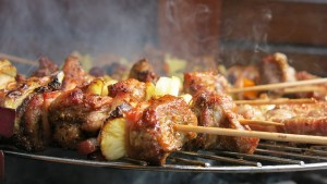 Grilled Kabobs