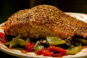 Pecan Grilled Salmon